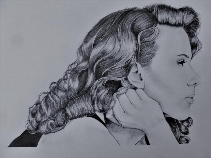 Scarlett Johansson by Fred
